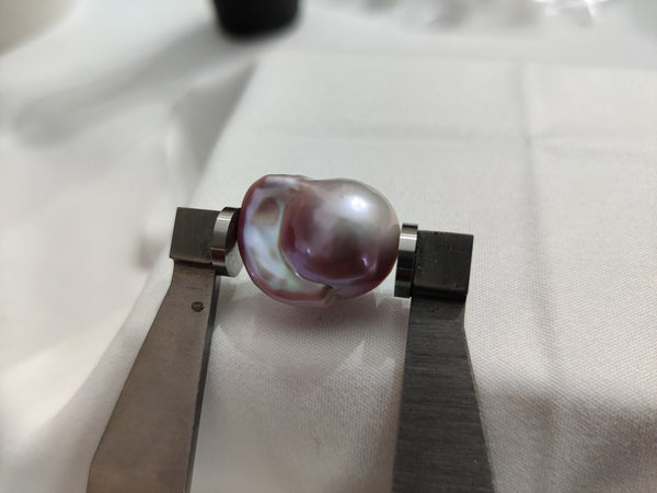 Purple Cultured Freshwater Pearl Loose