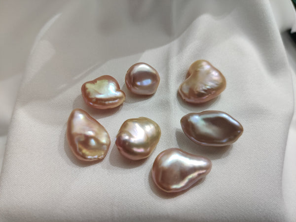 Metallic Cultured Freshwater Nugget Pearls Loose