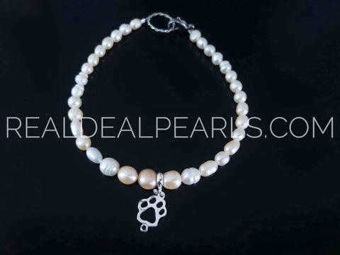 Pearls on pets | Cultured Freshwater Pearl Necklace Collar for Dogs or Cats