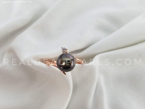 Tahitian Soul Sterling or Rose Gold Vermeil | 1 Oyster Opening