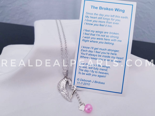 The Broken Wing Necklace