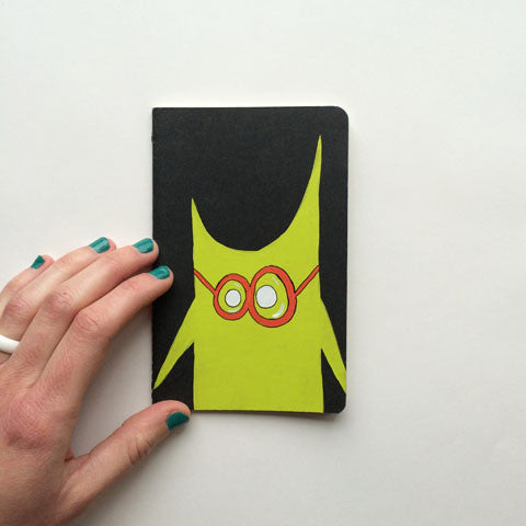 Big Glasses Notebook