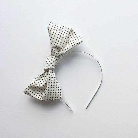 Bow Headband | Mini Spots
