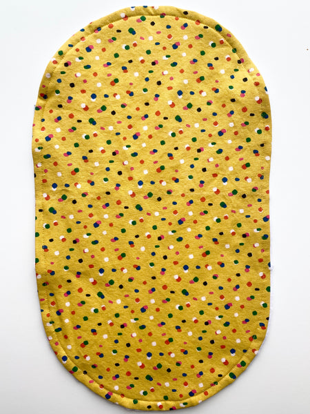 Burp Cloth | Mustard Sprinkles