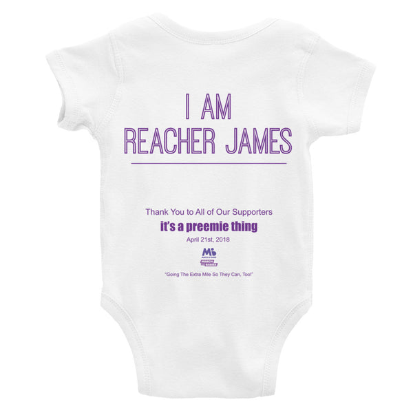 Infant Bodysuit - Preemie Power