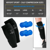 Calf - Cold Compression Sleeves With Freeze Pack Inserts