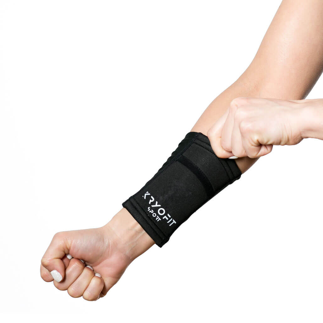 Cold Wrist/Ankle Compression Sleeves With Freeze Gel Inserts