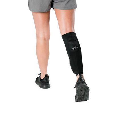 Cold Compression Calf Sleeves With Freeze Pack Inserts