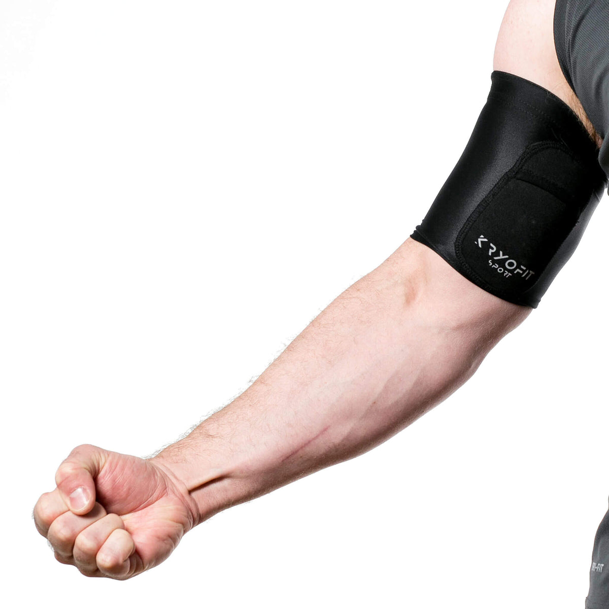 Cold Compression Bicep/Knee Sleeves With Freezable Gel Inserts