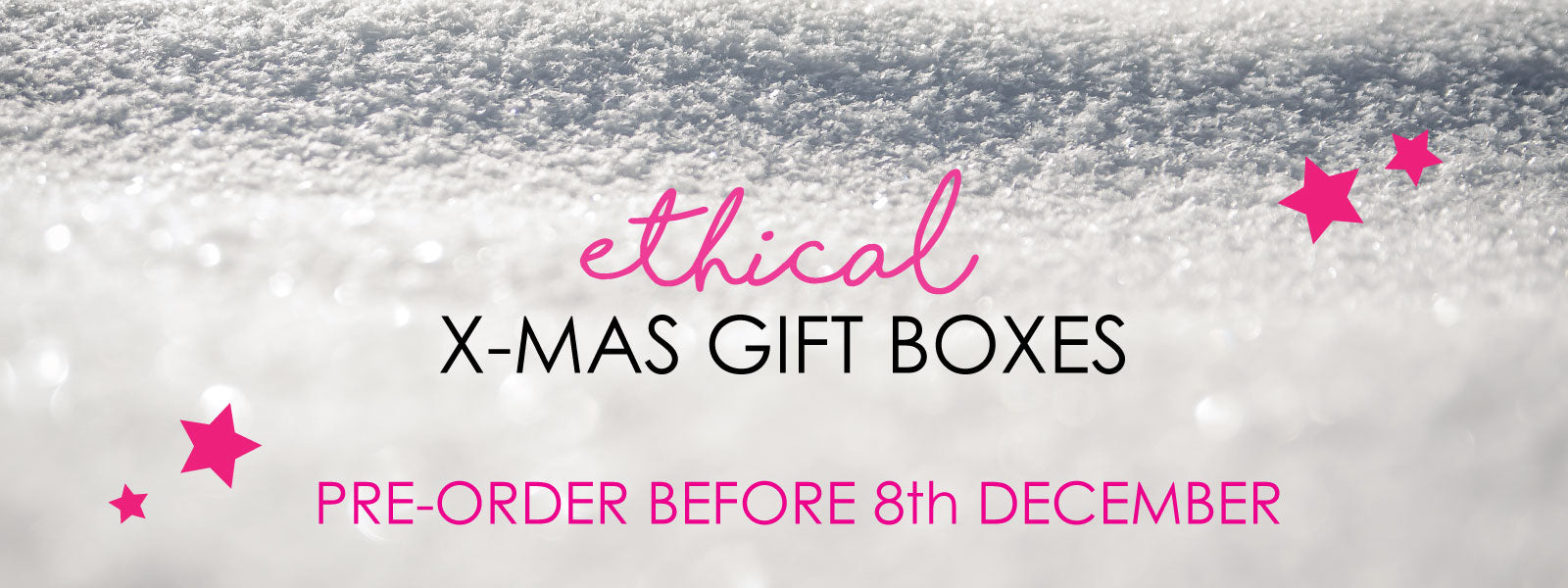Christmas Gift Boxes Ethical Natural Organic