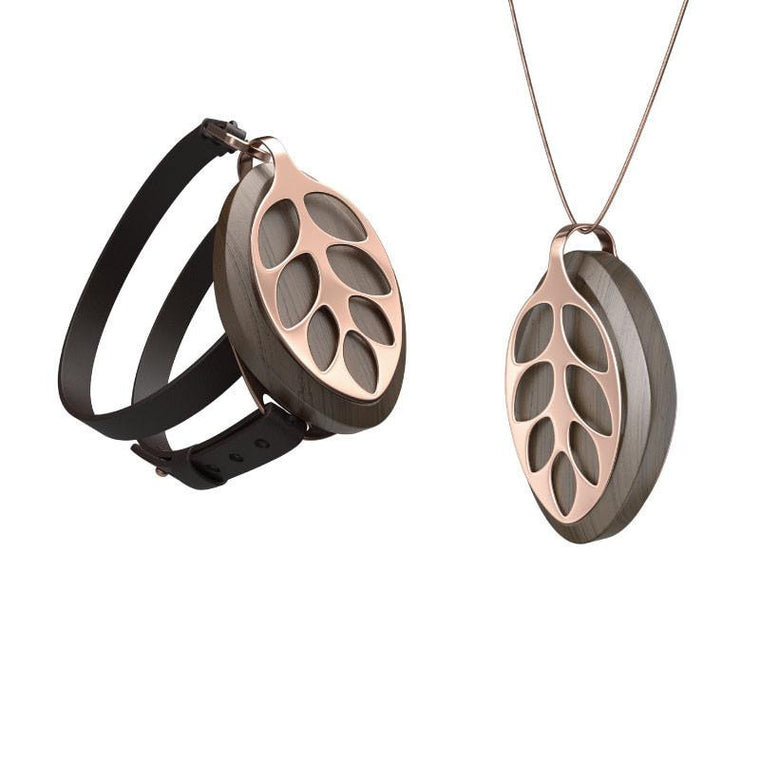 Bellabeat Nature Leaf Activity Tracker Rose Gold Edition