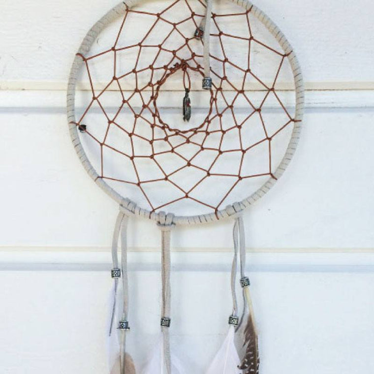 Catching Dreams Dreamcatcher Medium White