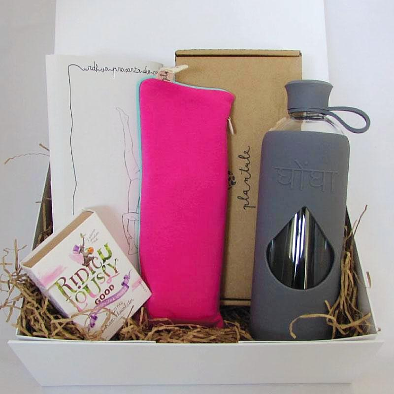 Ethical Christmas Gift Box 'Happy Yogini'