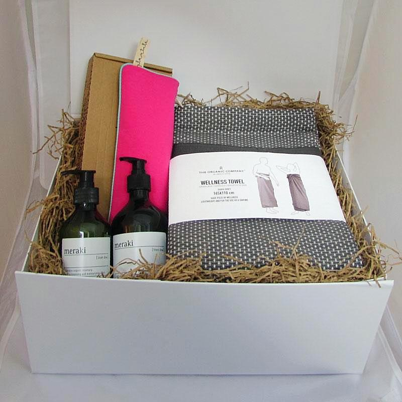 Ethical Christmas Gift Box 'Luxury Me Time'