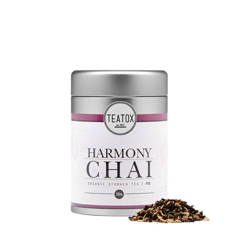 Teatox Harmony Chai Organic Black Tea with Spices loose tea