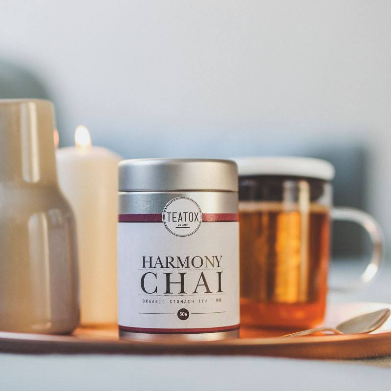 Teatox Harmony Chai Organic Black Tea with Spices