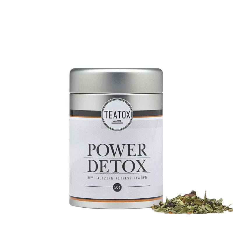 Teatox Power Detox Bio Green Tea Guarana loose tea
