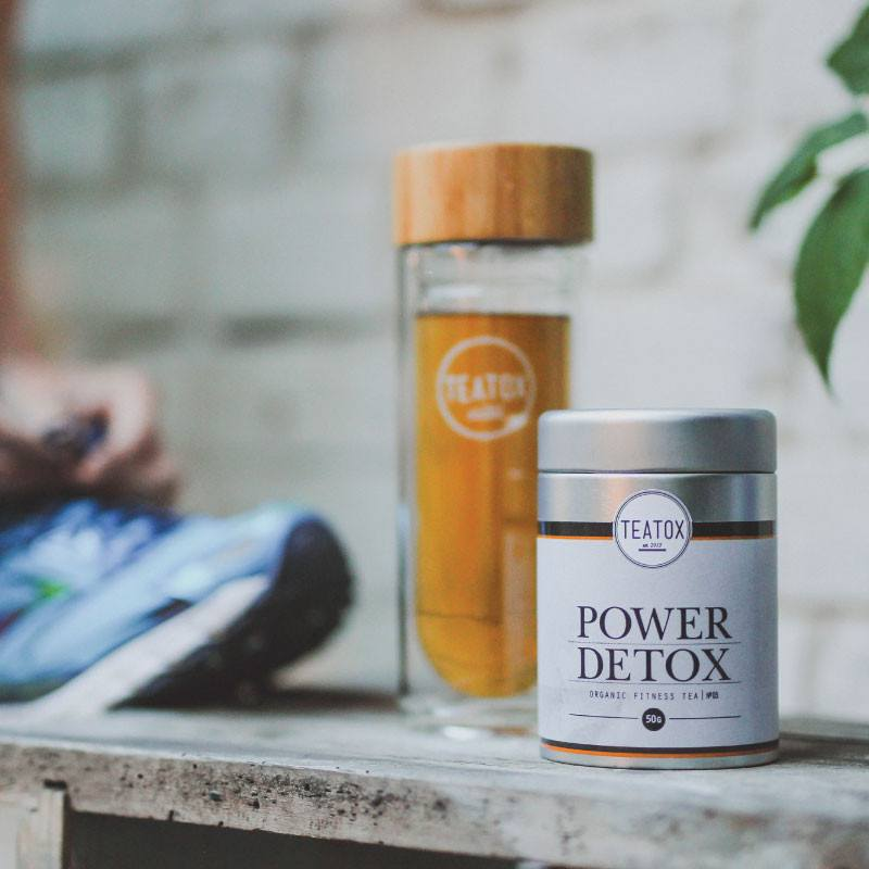 Teatox Power Detox Bio Green Tea Guarana