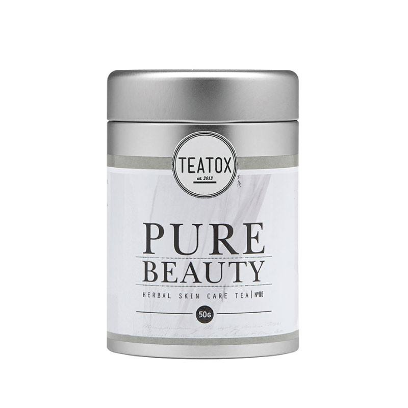Teatox Pure Beauty Bio White Tea Ananas packshot
