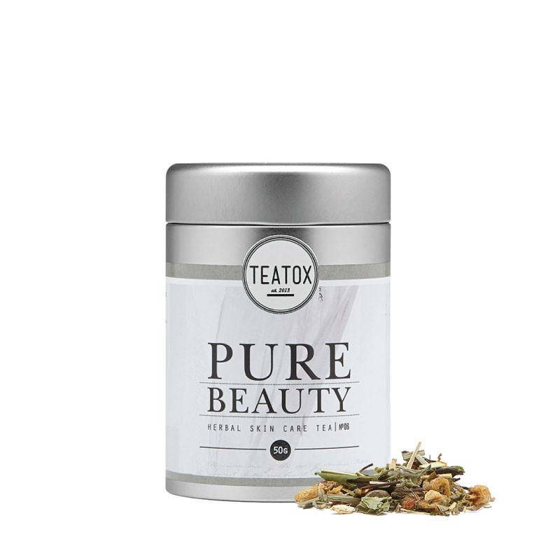 Teatox Pure Beauty Bio White Tea Ananas loose tea