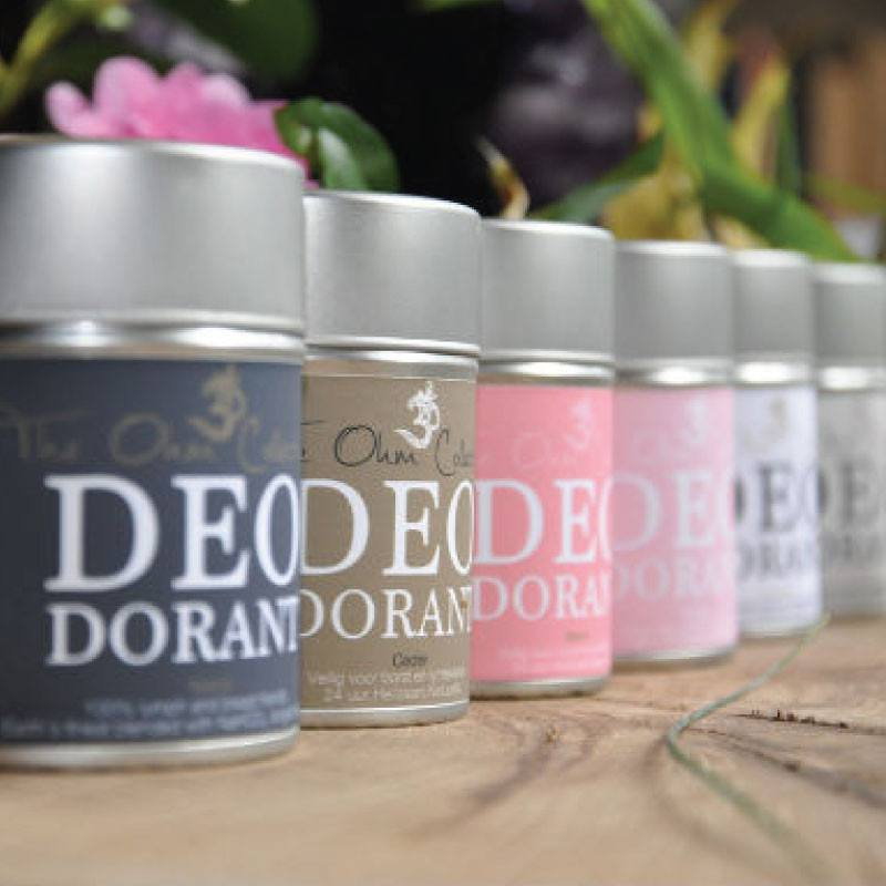 The Ohm Collection Natural Deodorant complete collection