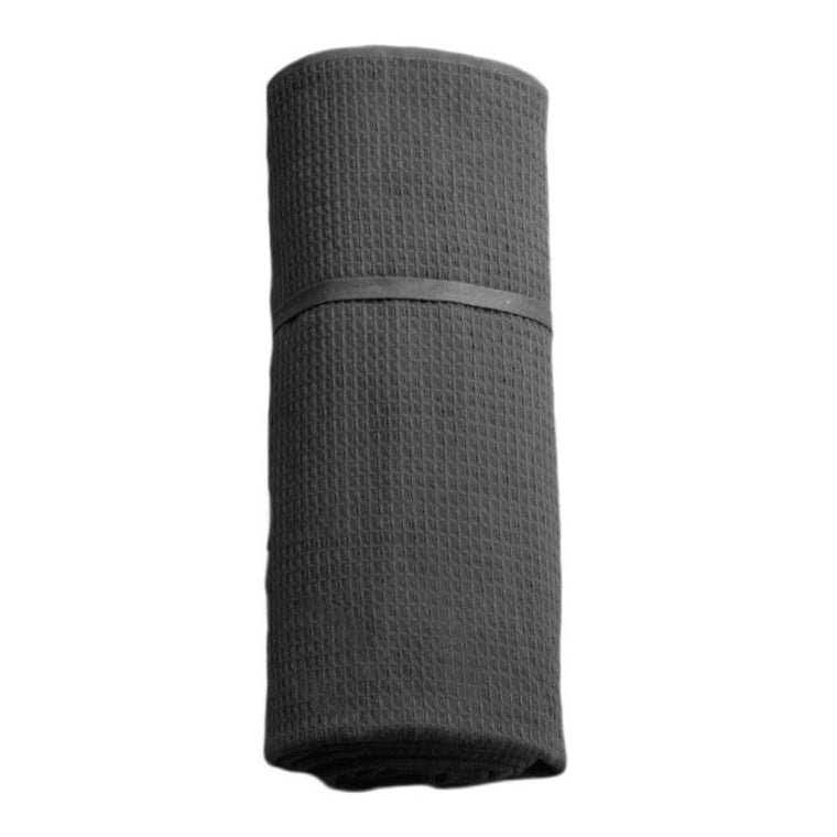 The Organic Company Towel To Go Dark Grey roll