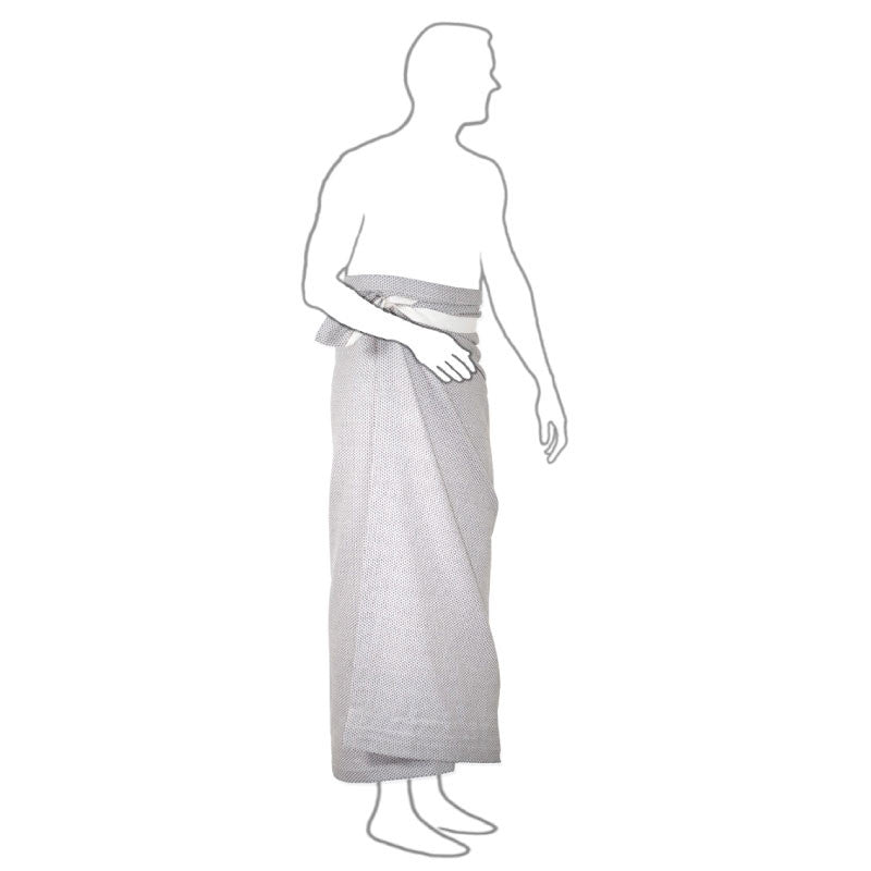 The Organic Company Wellness Towel Light Grey wrapping
