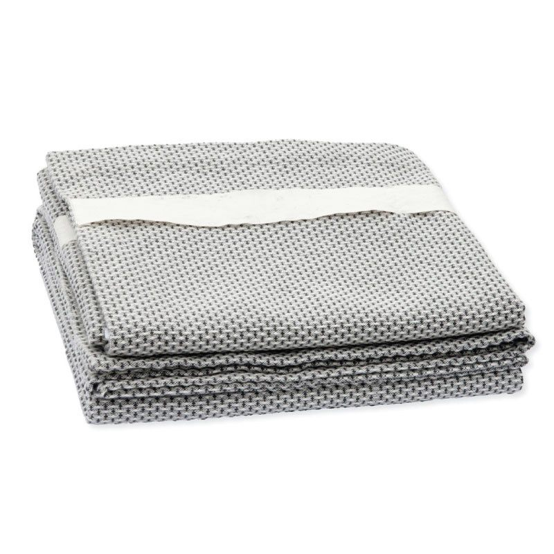 The Organic Company Wellness Towel Light Grey