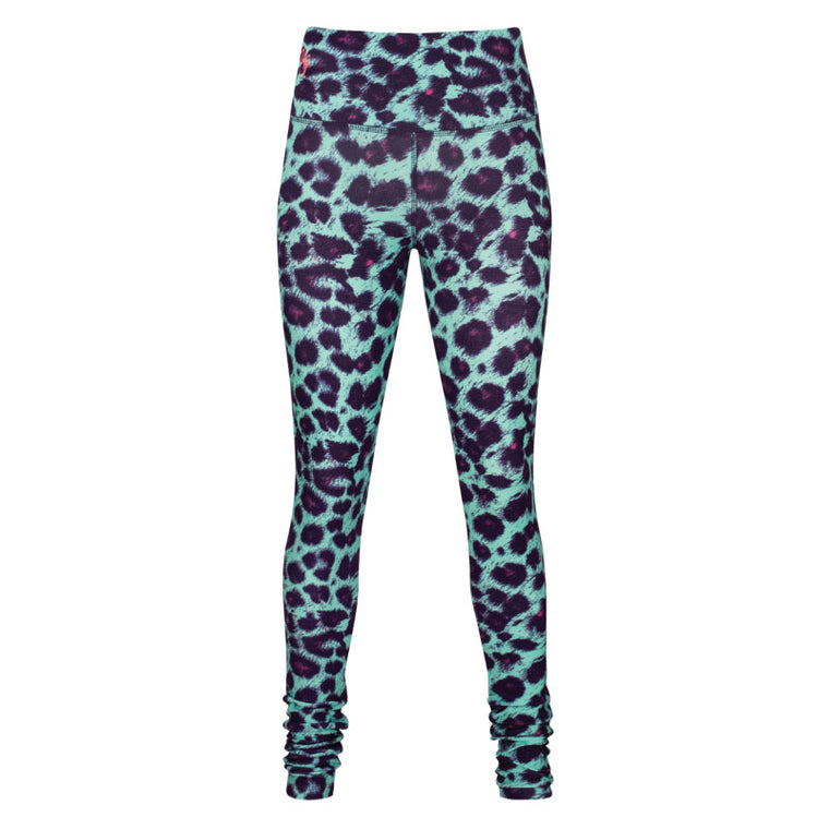 Urban Goddess Yoga Leggings Satya Minty Monkey