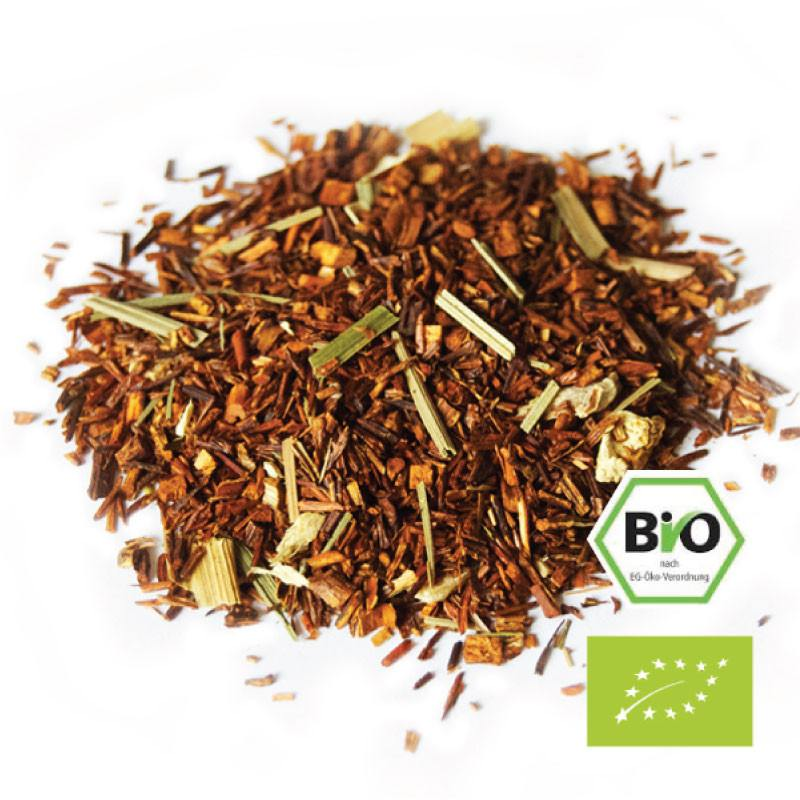 Yea Tea Food Couture Amsterdam Organic Herbal Cape Gold Rooibos Lemon Lime Loose Leafs