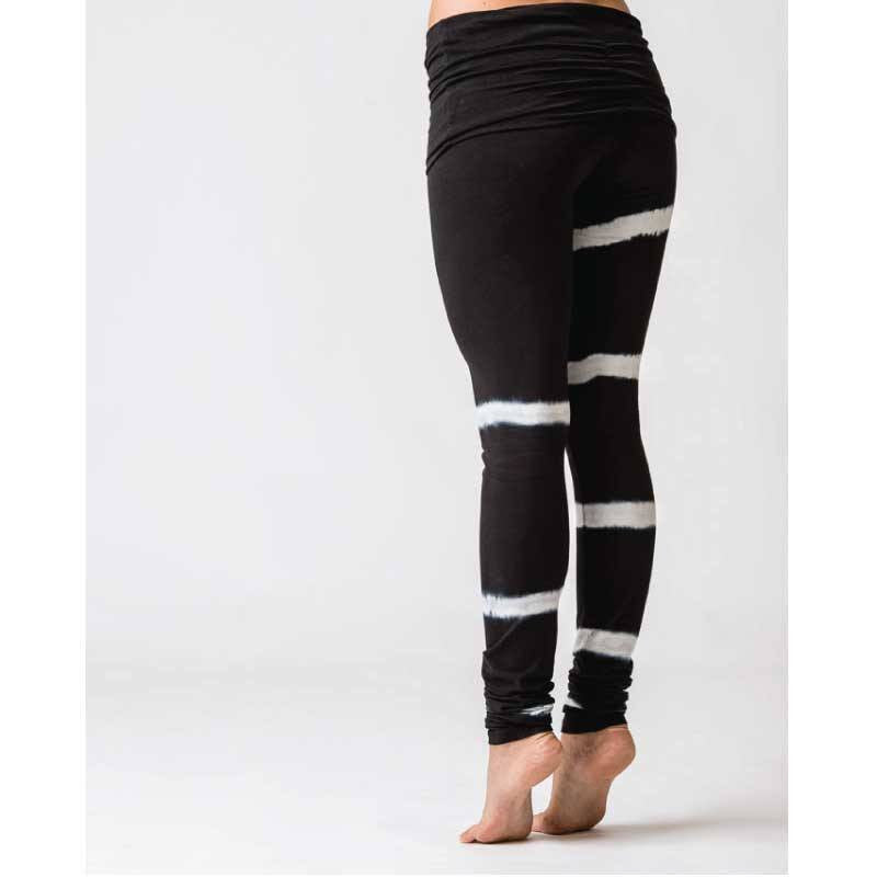 Urban Goddess Yoga Leggings Shaktified Shunya Urban Lava & White