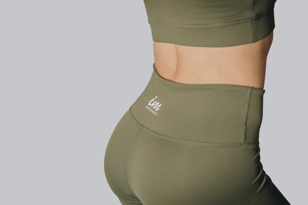 PREMIUM LEGGINGS - Army Green