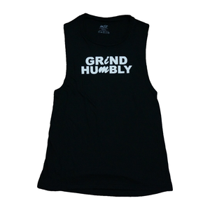 GRiND HUMBLY Muscle tank - Black