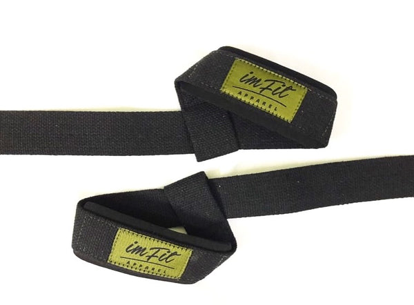IMFiT Lifting Straps - Army Green & Black