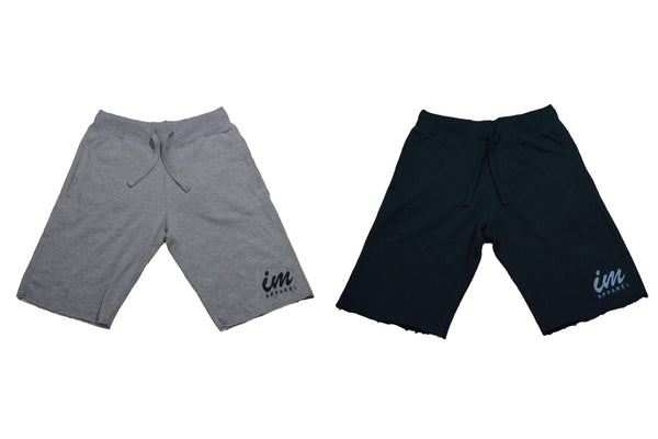 IM sweat shorts - Black / Grey