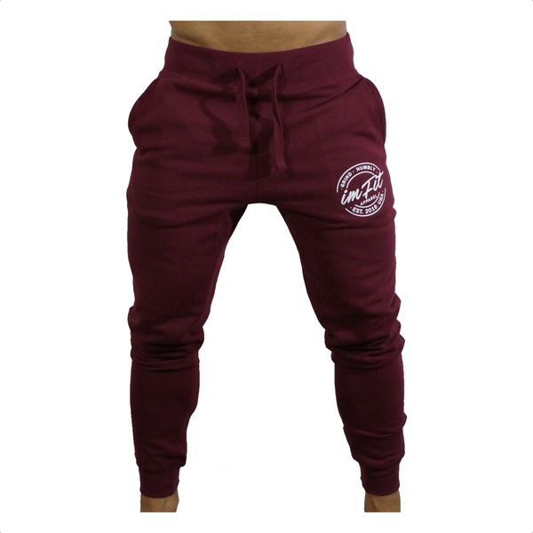 IMFiT Sweat Jogger - Burgundy