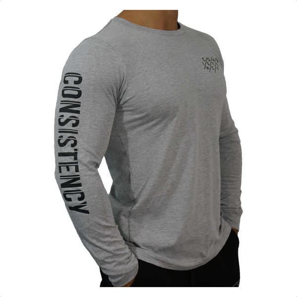 Unisex Consistency Long Sleeve Tee - Grey