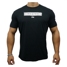 Load image into Gallery viewer, IMFiT Consistency tshirt - Black