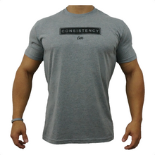 Load image into Gallery viewer, IMFiT Consistency tshirt- Grey