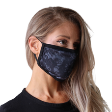 Load image into Gallery viewer, IMFIT FACE MASK - NAVY MARBLE