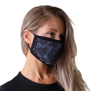 IMFIT FACE MASK - NAVY MARBLE
