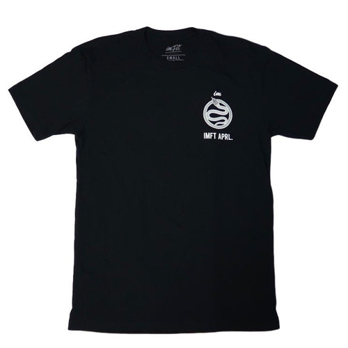 CONSISTENCY IS THE KEY TEE - Black