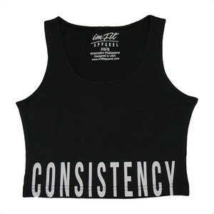 Consistency Crop Top 2.0 - Black