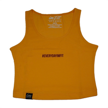 Load image into Gallery viewer, #EVERYDAYIMFIT Crop Top - Amber