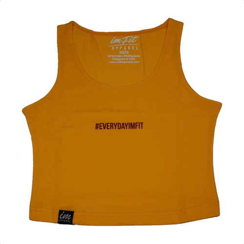 #EVERYDAYIMFIT Crop Top - Amber