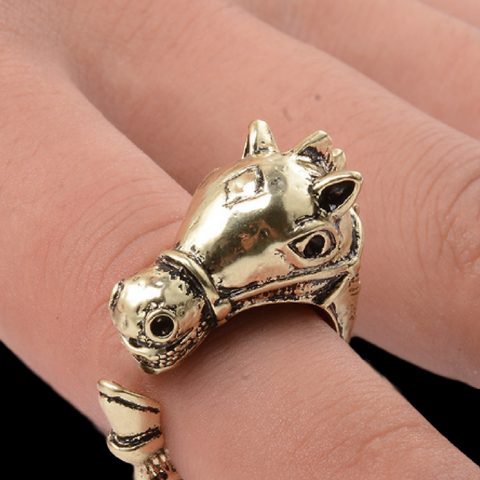 Giddy-Up-Go...A Piece Of The Past Vintage Horse Ring!