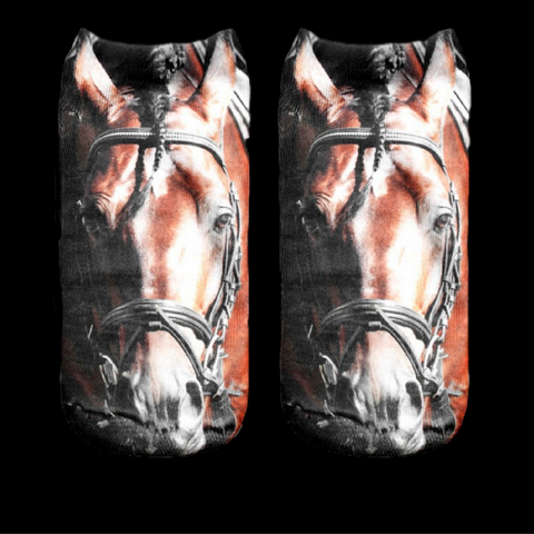 Cute...Cozy Horse Socks!