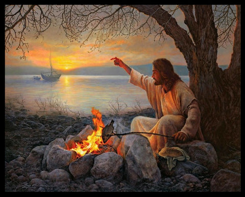 Jesus By The Campfire!