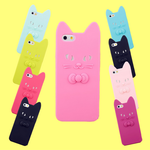 Cute Candy Colored 3D iphone Cases!