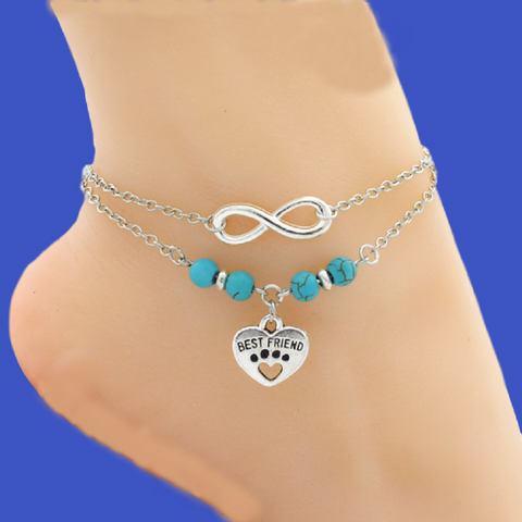 A Dainty Ankle Bracelet For Marley's Cause!